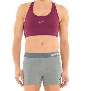 Nike Pro Compression Gray White Black Spandex L